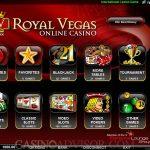 Royal Vegas Casino Screen 1